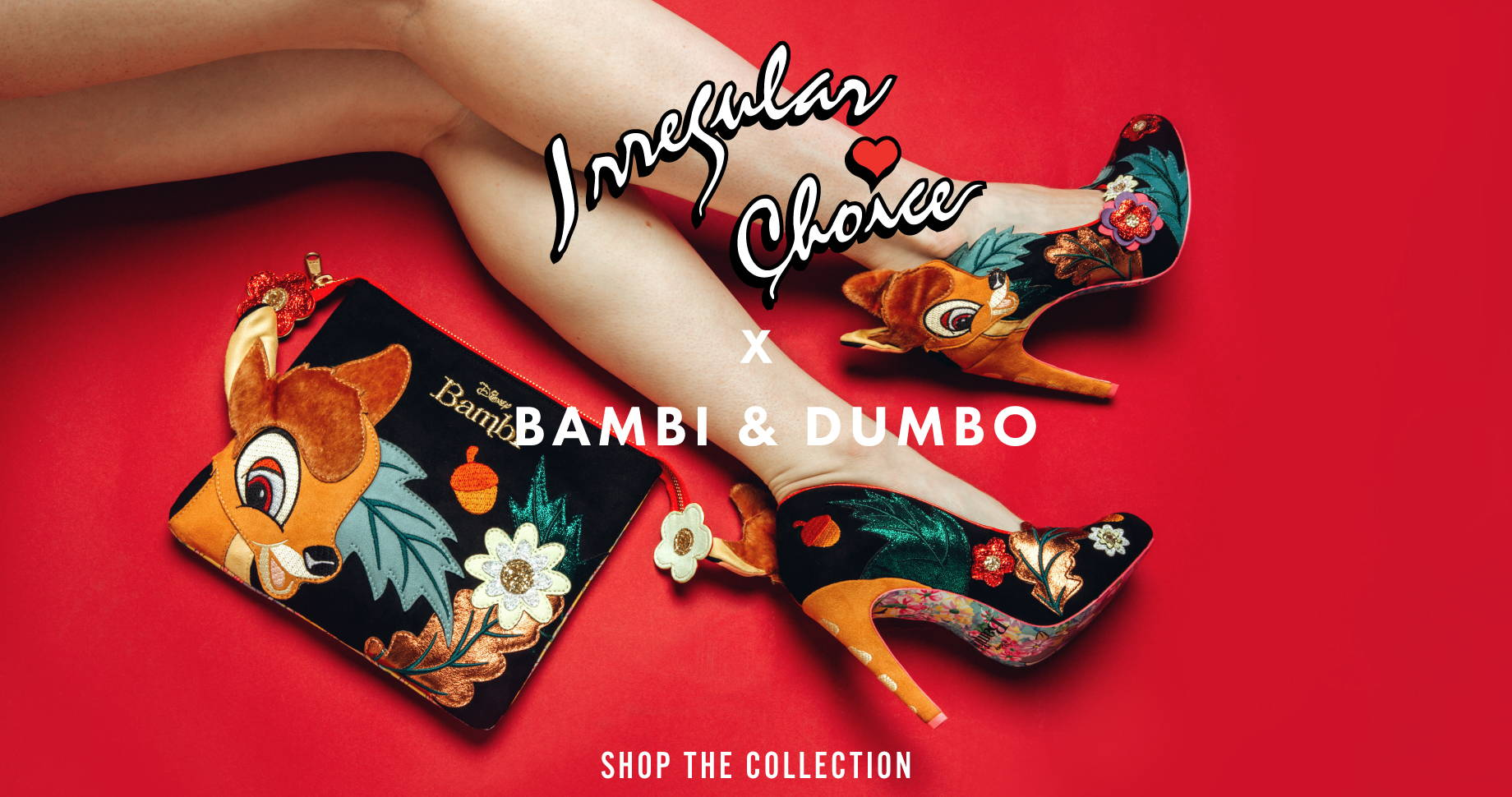 Irregular Choice x Bambi and Dumbo | Shop the Collection