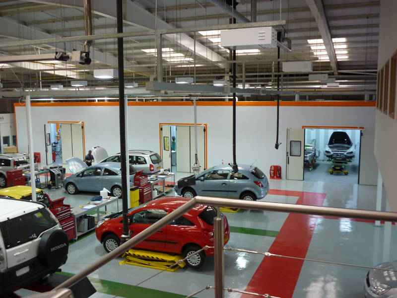 Click here to see the Thatcham Automotive Academy Acoustic Treatment Case Study