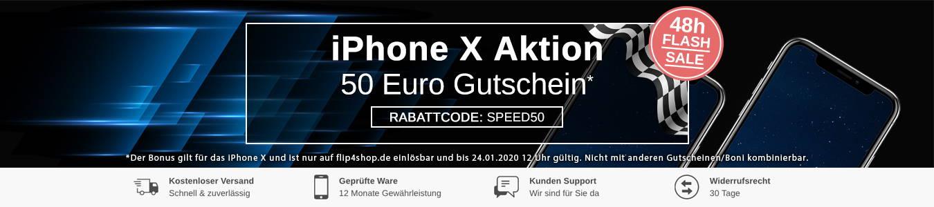 iPhone X Angebot – Jetzt gebraucht kaufen bei FLIP4SHOP