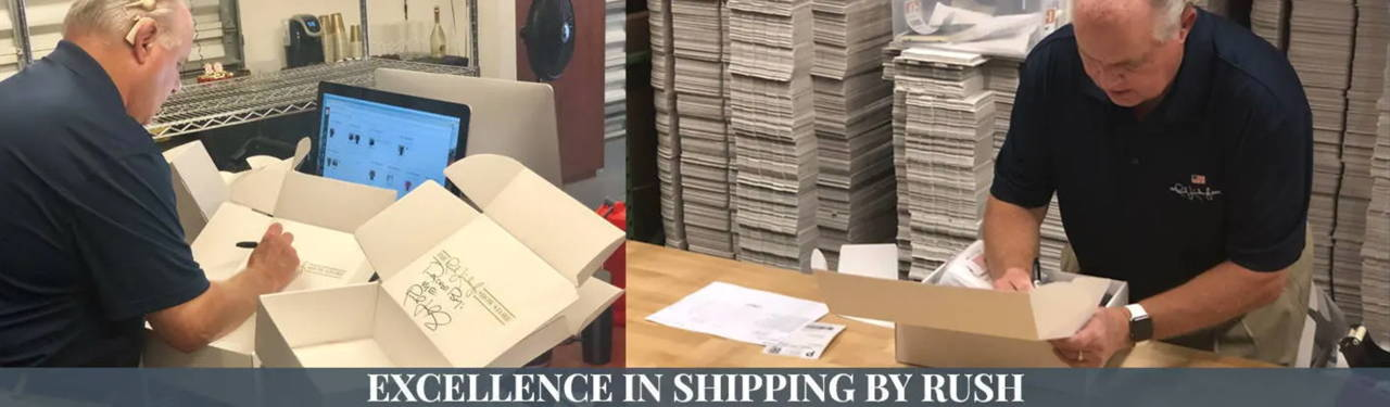 Excellence in Shipping by Rush