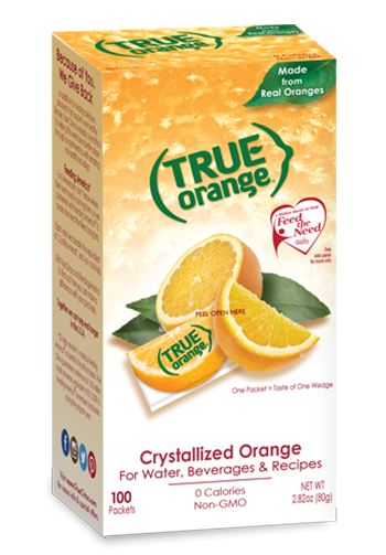 True Orange flavored drinks