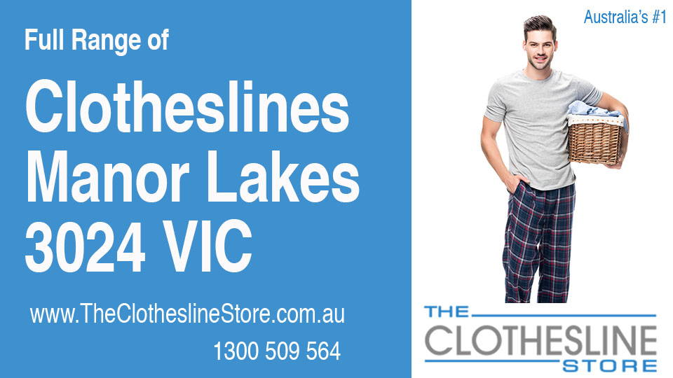 New Clotheslines in Manor Lakes Victoria 3024