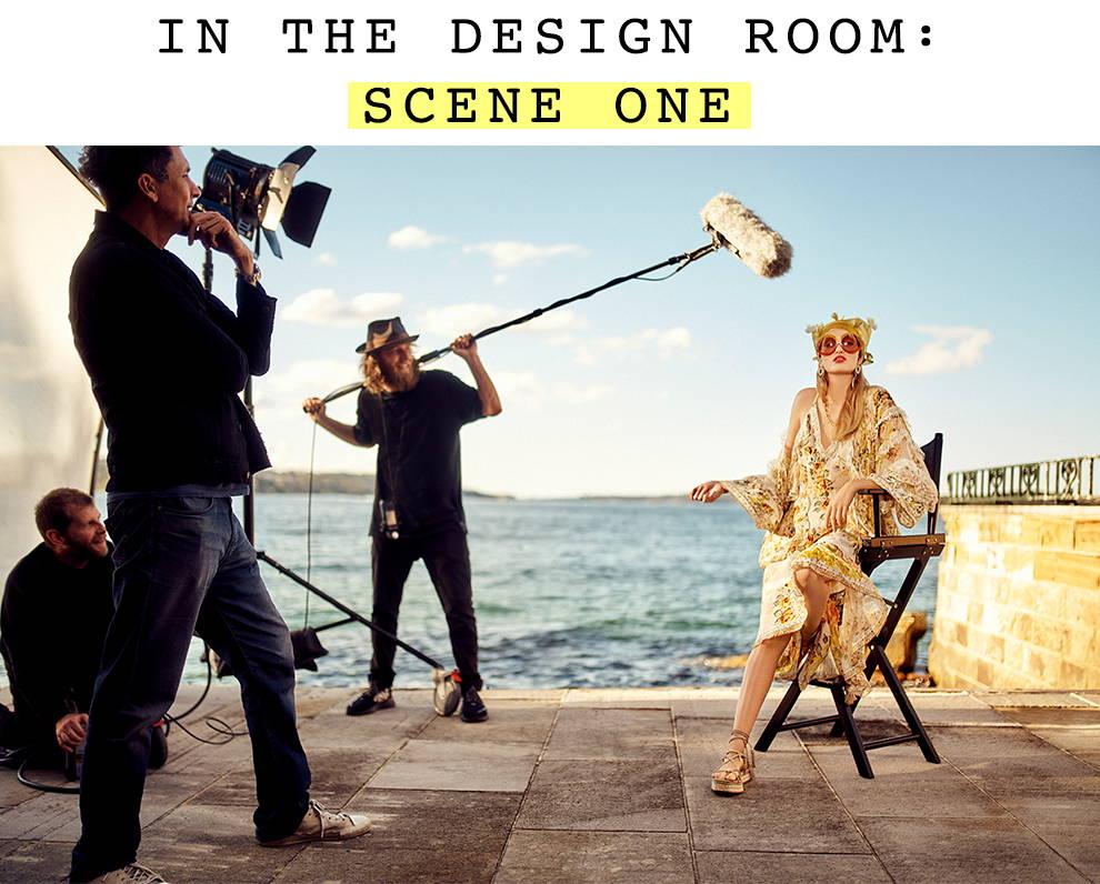 In The Design Room: Scene One