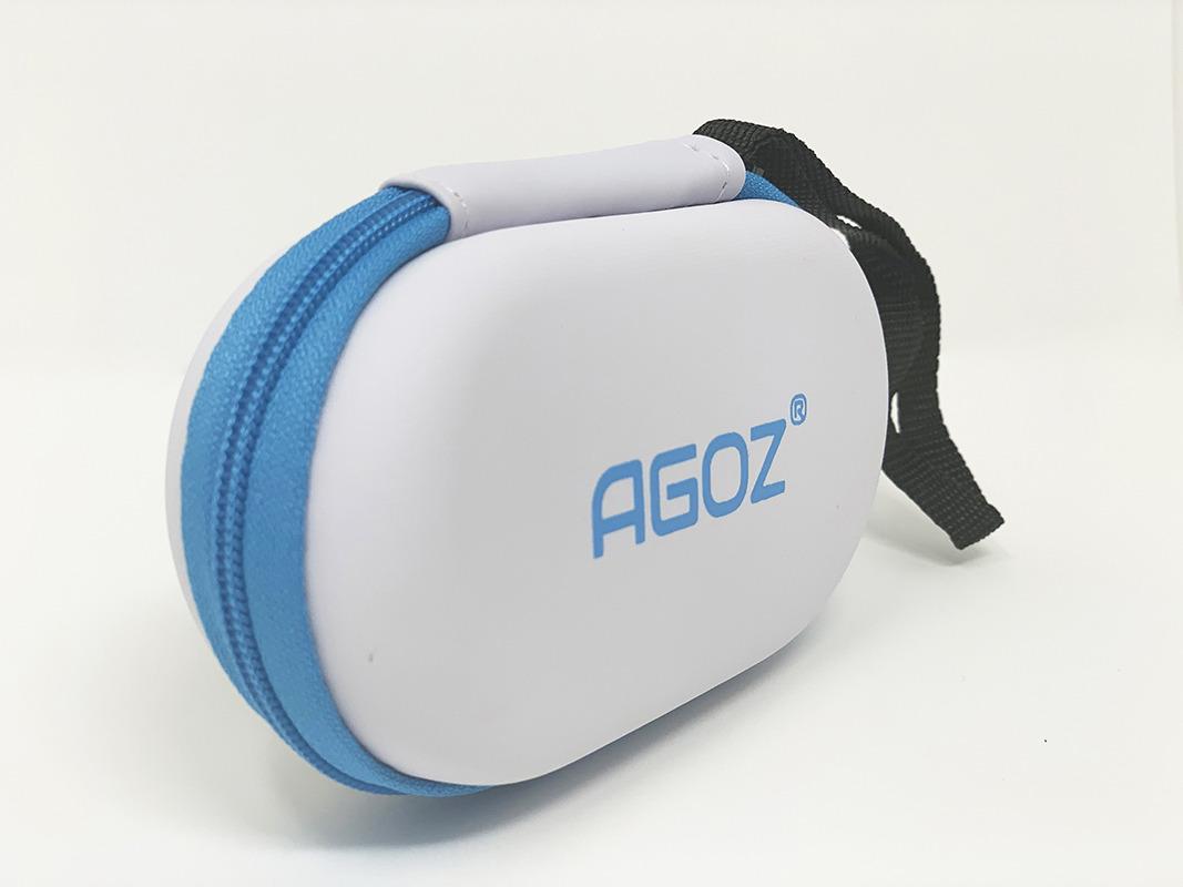 Asthma Inhaler Zippered Case wrist strap