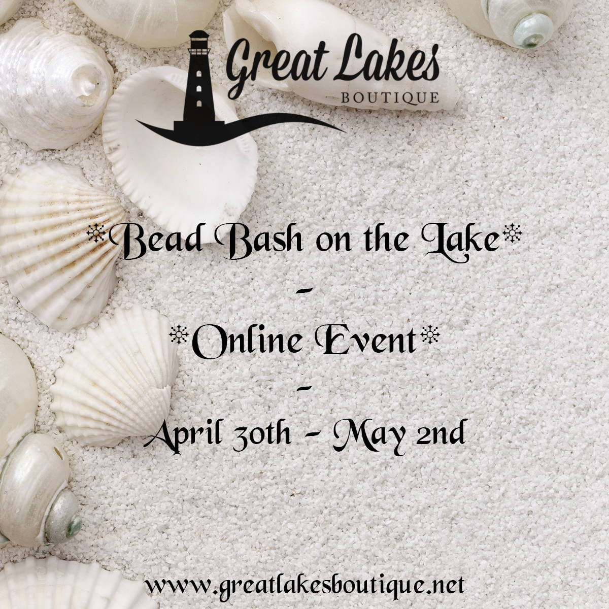 Bead Bash on the Lake Spring 2021