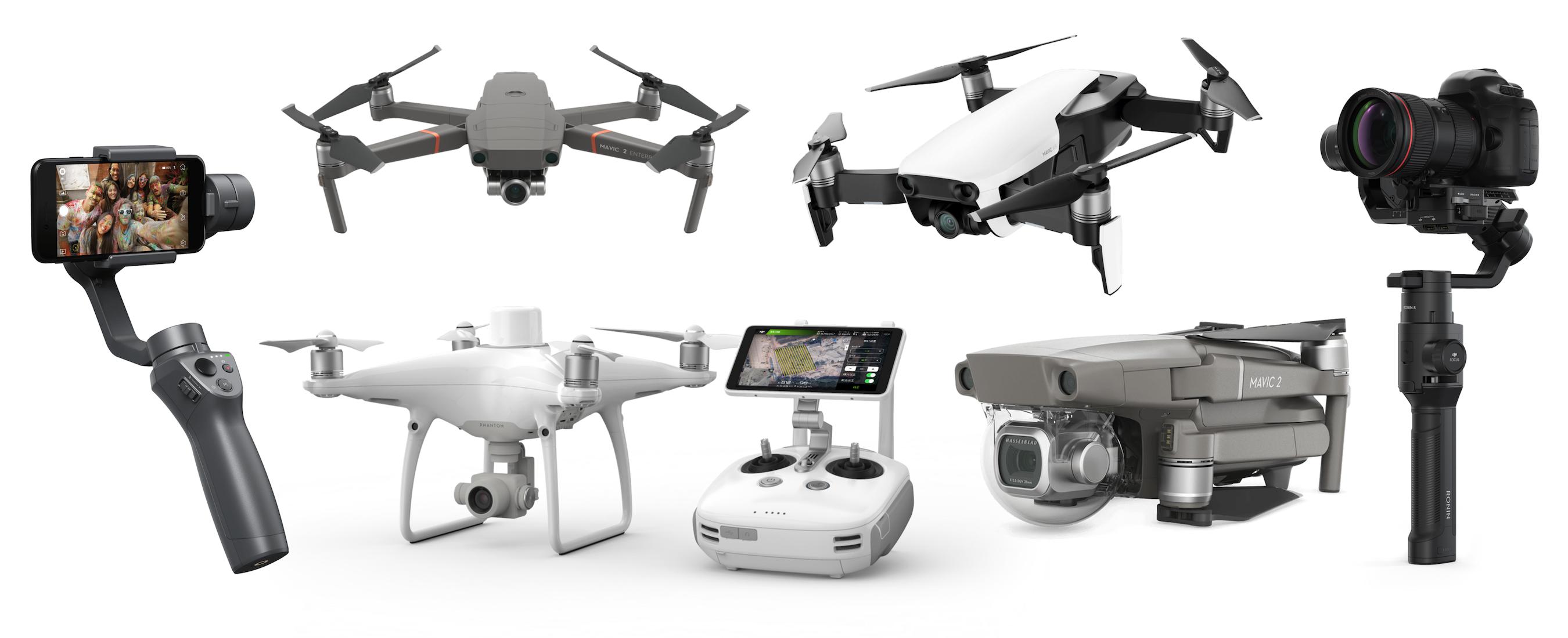 Drones of 2018