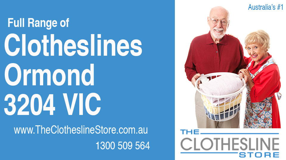 New Clotheslines in Ormond Victoria 3204