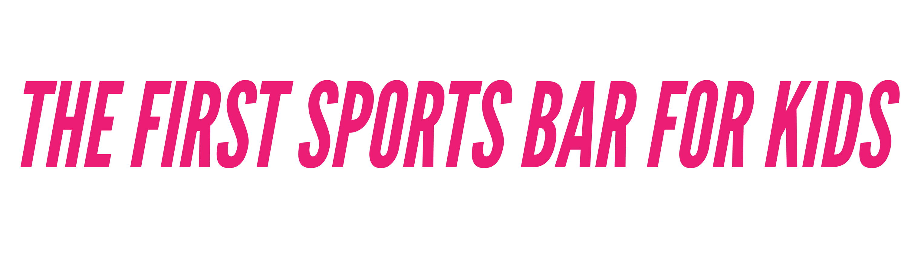 The First Sports Bar for Kids
