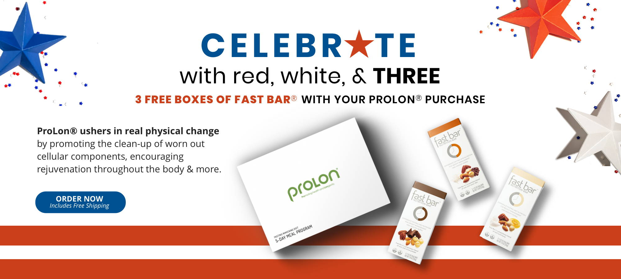 ProLon July 4th Promotion