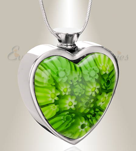 Irish Yearning Heart Cremation Jewelry