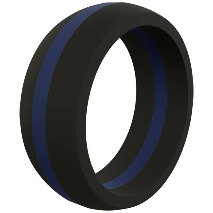 QALO Thin Line Ring Men's