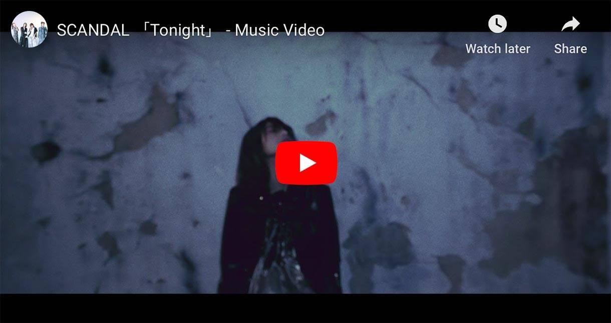 Scandal Tonight music video thumbnail