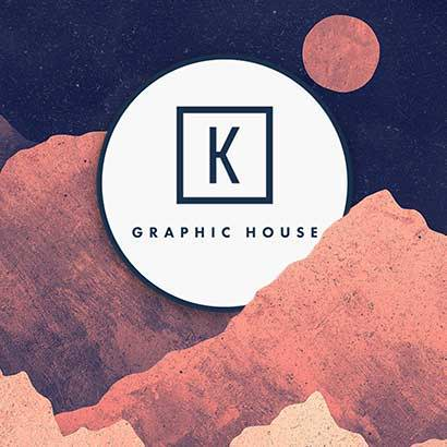K Graphic House Art Bloom Artist