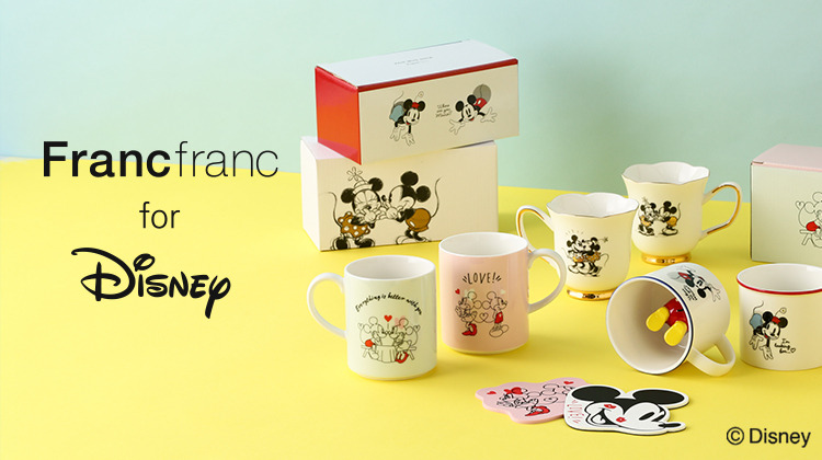 Francfranc for Disney