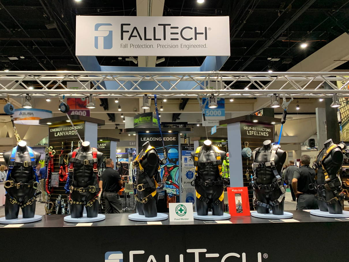 FallTech booth at National Safety Council Tradeshow