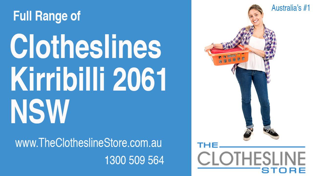 Clotheslines Kirribilli 2061 NSW