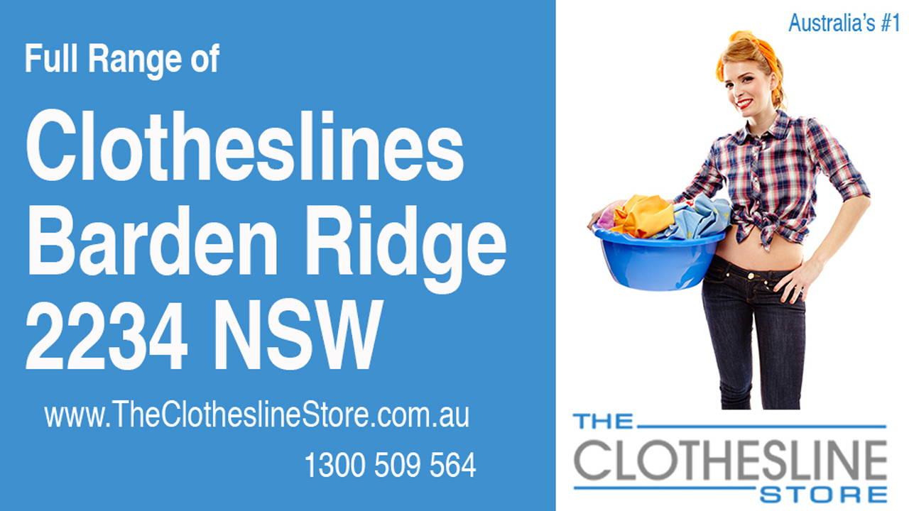 Clotheslines Barden Ridge 2234 NSW