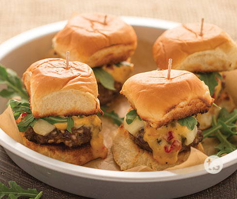 sweet pepper jalapeno sliders