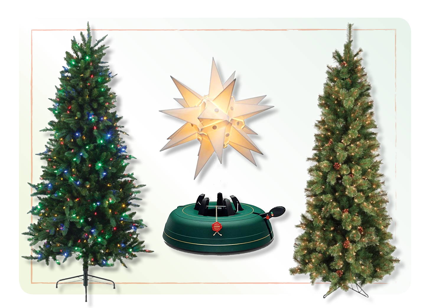 Shop Faux Christmas Trees, Christmas Tree Stands, Krinner Tree Stands