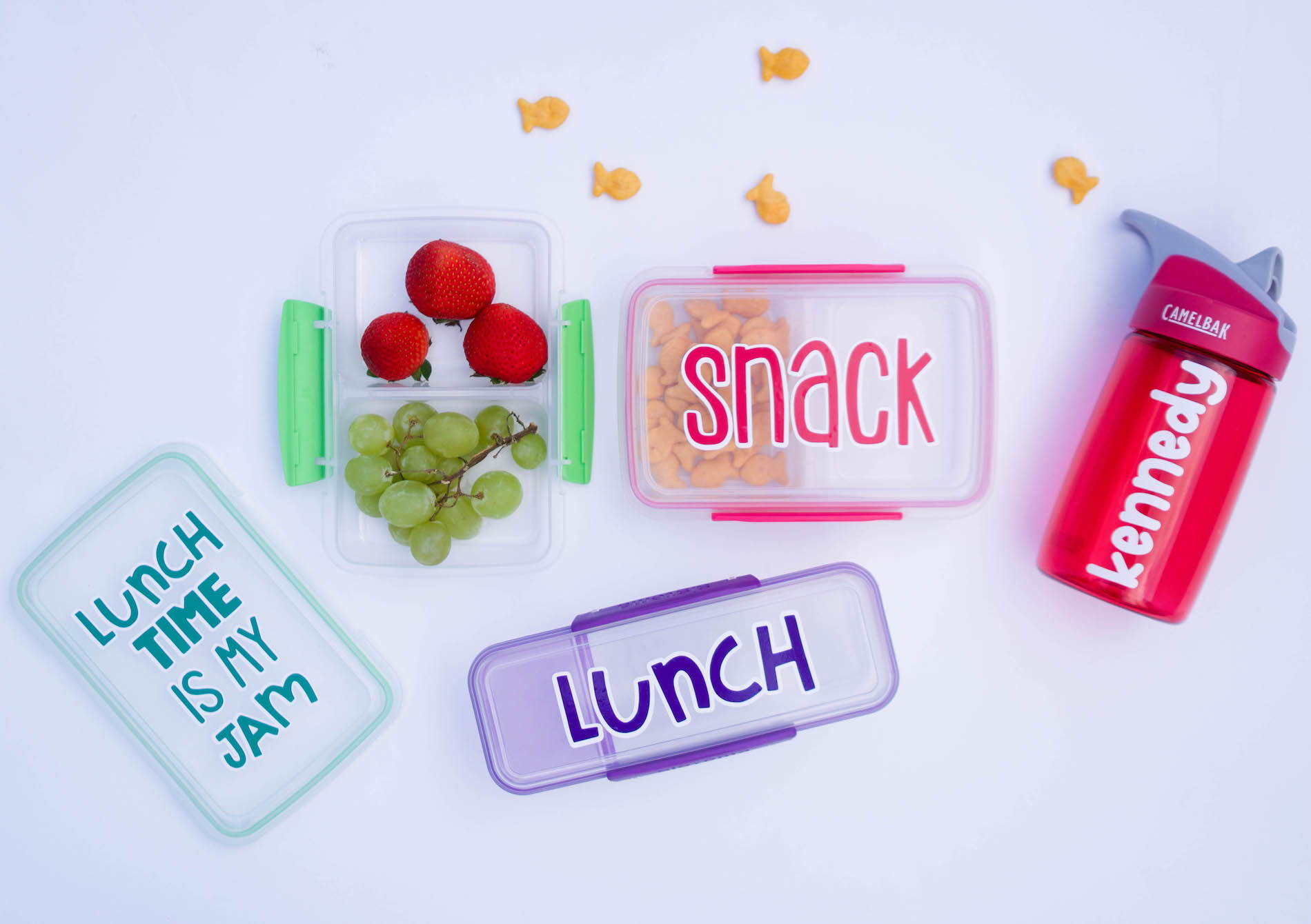 Craftables vinyl lunchbox kit