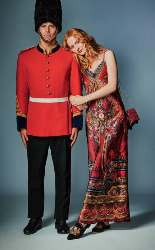 CAMILLA slip dress, CAMILLA stories of a station dress, CAMILLA red floral dress