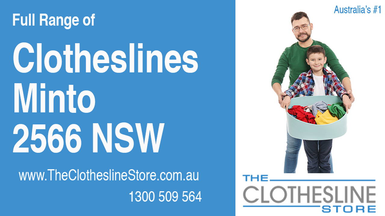 New Clotheslines in Minto 2566 NSW