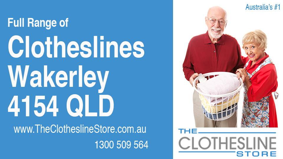 New Clotheslines in Wakerley Queensland 4154