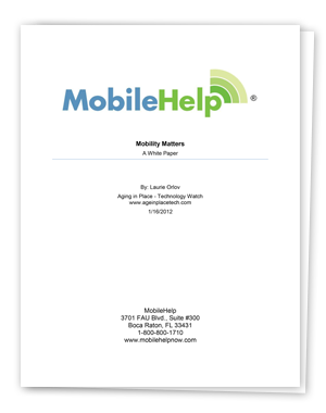 Mobility Matters: A White Paper from ageinplacetech.com