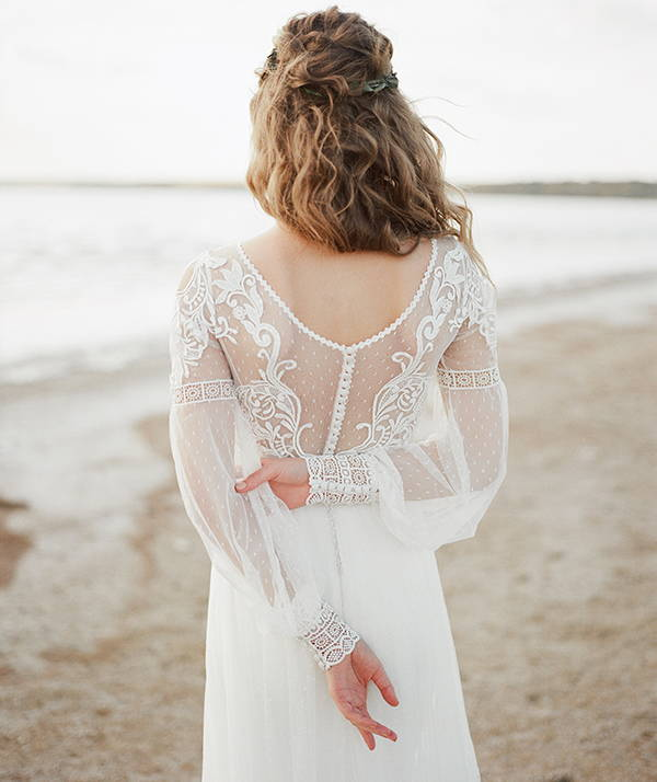 Low back wedding dresses from She Wore Flowers. Affordable wedding dresses at She Wore Flowers.