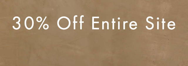 a banner showing 30% off entire store