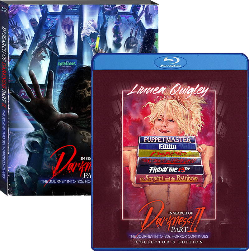In Search of Darkness: Part II, Linnea Quigley Collector's Edition boxart