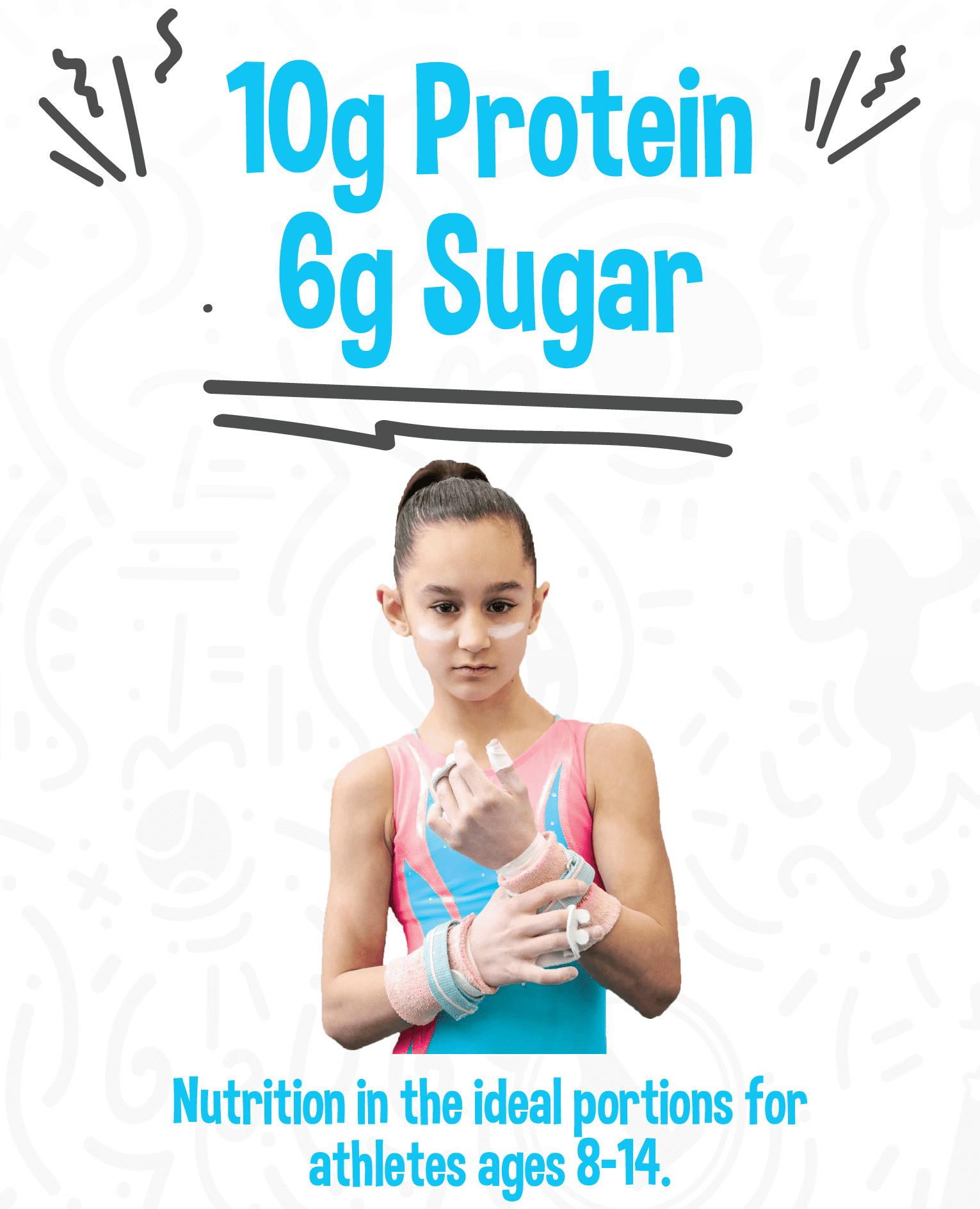 Herofuel 10g Protein, 6g Sugar
