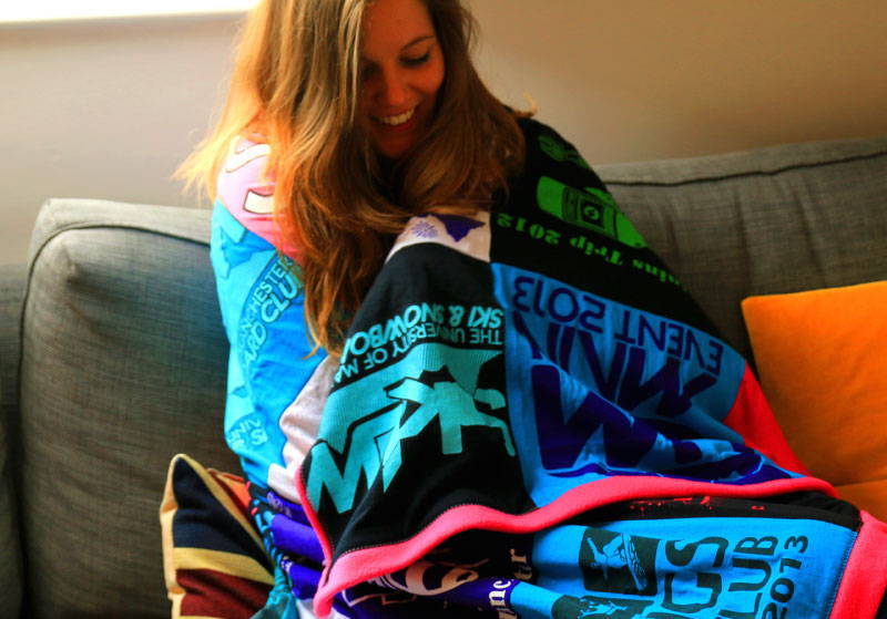 Make a T-Shirt Blanket | Too Many T-Shirts