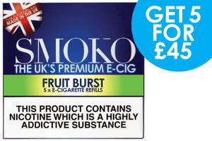E-Cig recarga ofertas del mejor cigarrillo electrónico del Reino Unido