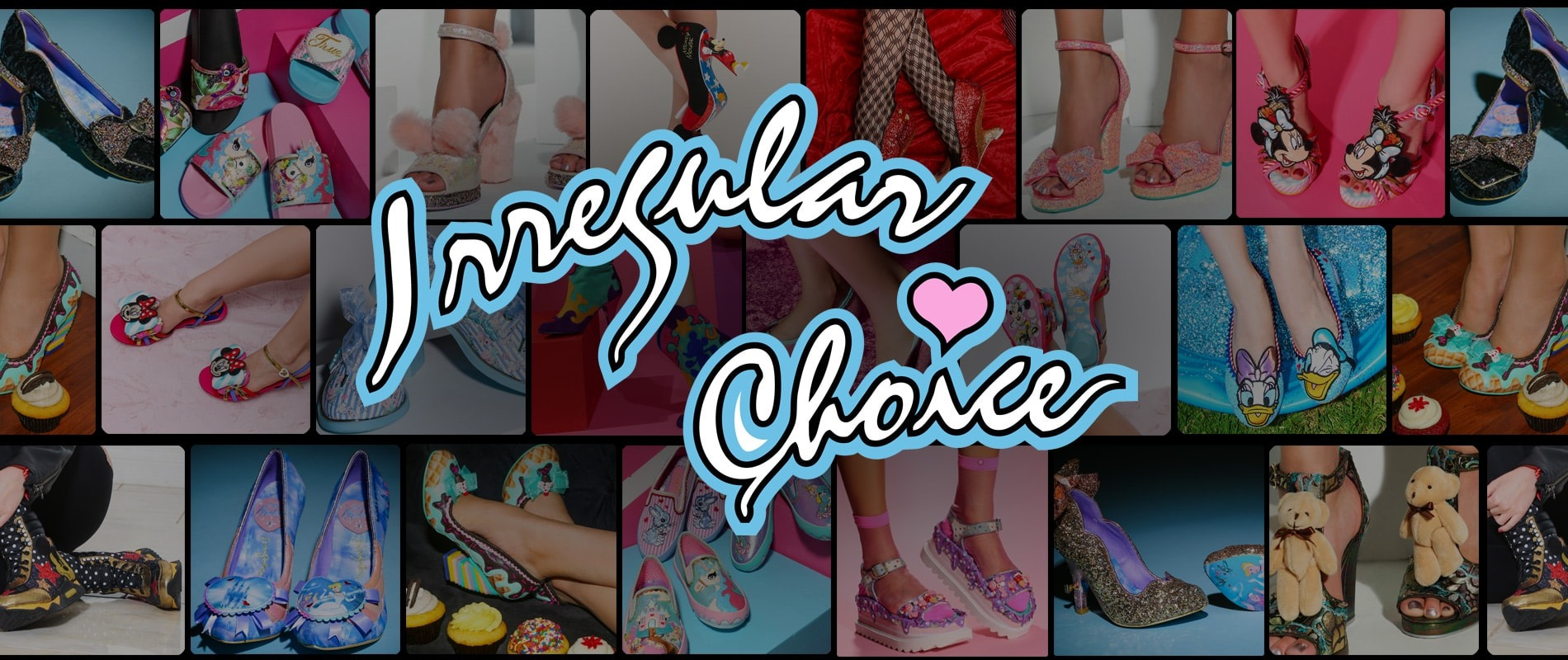 Shop All Irregular Choice | Tiltedasole.com
