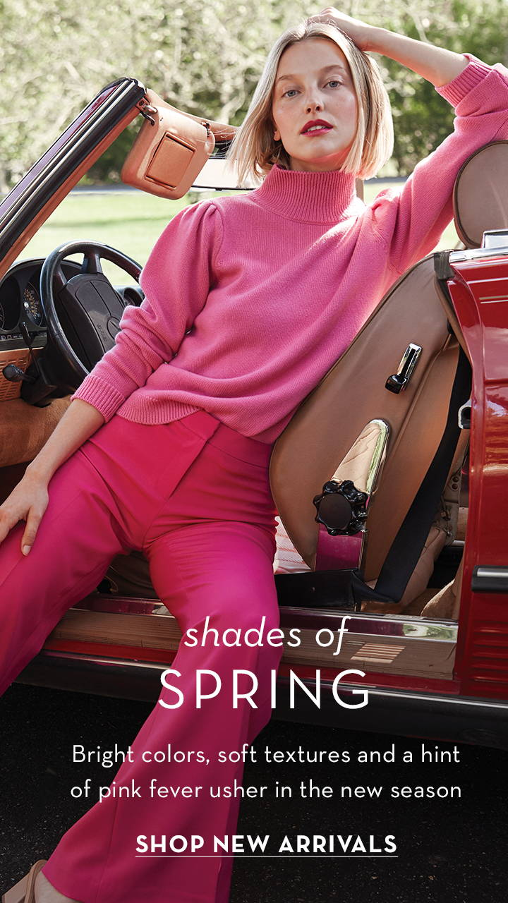 Shades of Spring, Shop new arrivals