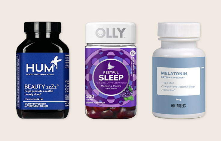 melatonin for restful night's sleep