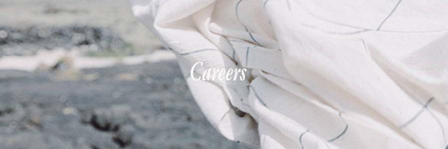Fabric For Freedom's career page listing most recent and up-to-date job vacancies within our sustainable clothing brand.