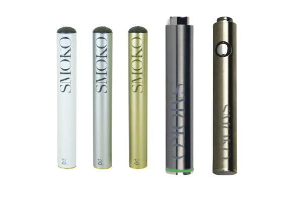 gama de accesorios de cigarrillos electrónicos