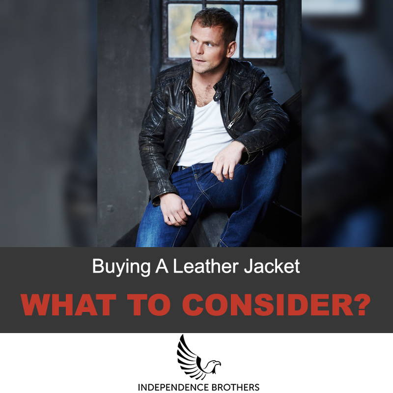 Buying your first leather jacket