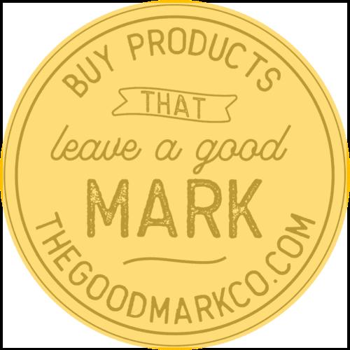 The Good Mark Co. Logo - Orange