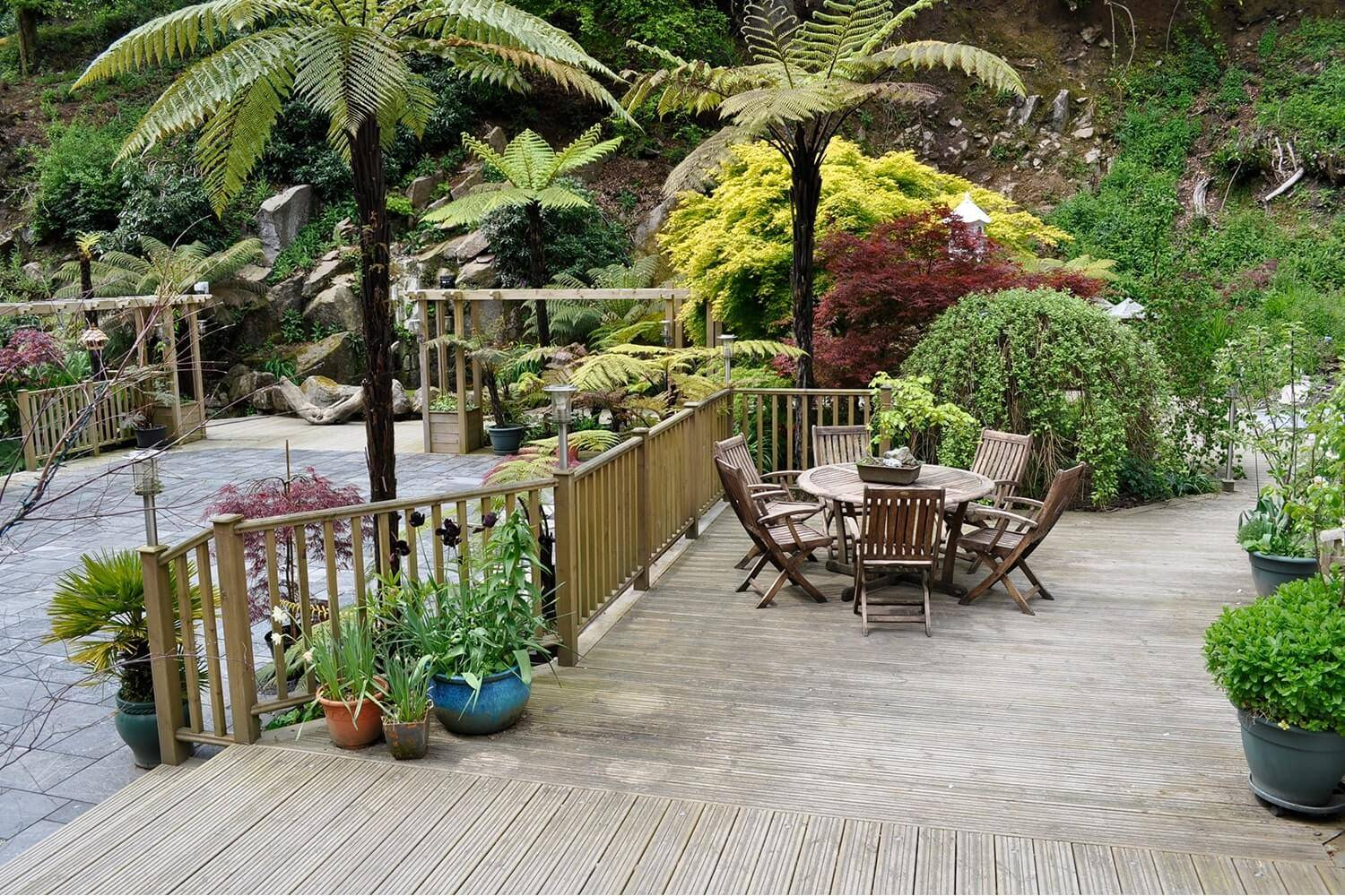 Outdoor Furniture on Decking
