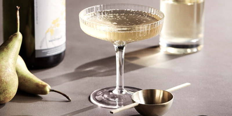 Barware for entertaining in your modern dining room.