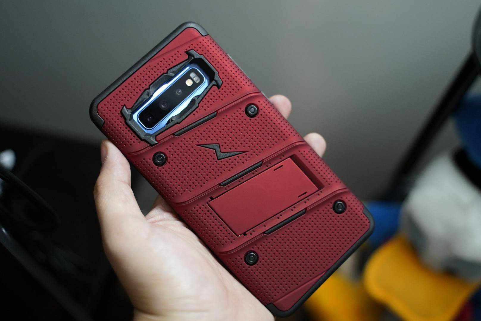ZIZO BOLT s10 plus red case