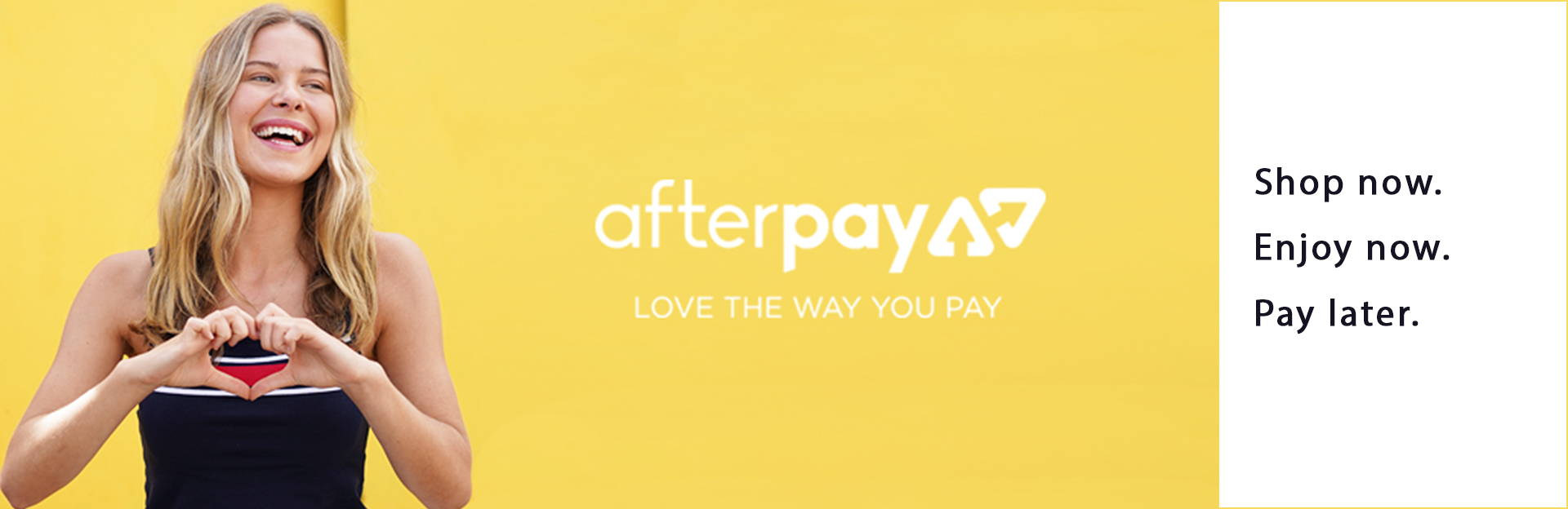 Afterpay accepted here