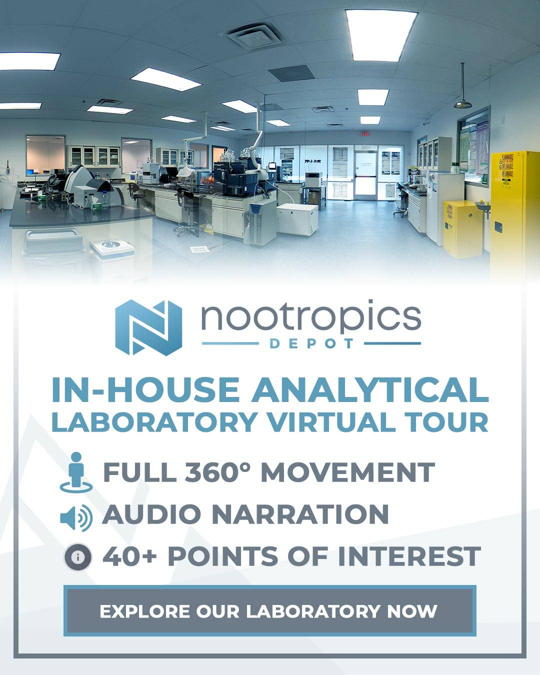 Take A Tour Of Our In-House Laboratory
