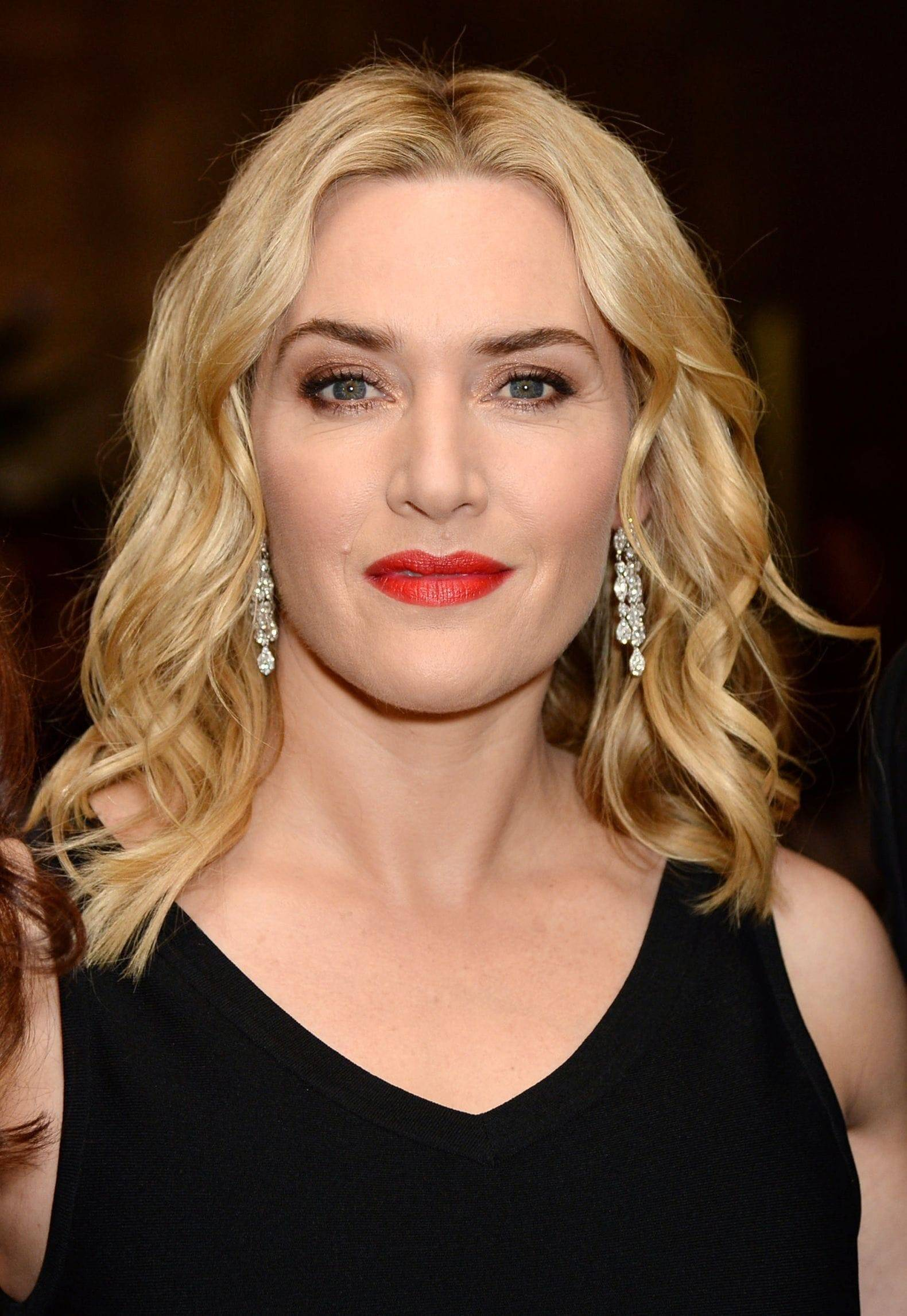 Kate Winslet wavy hair