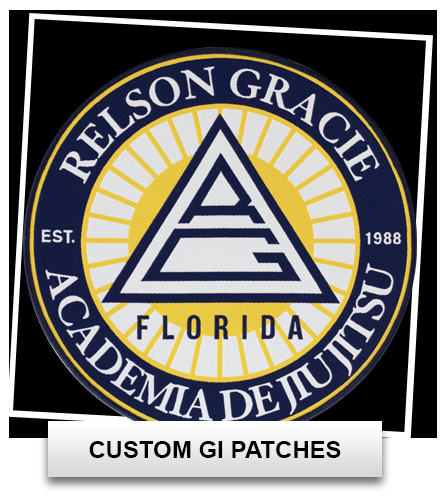 Custom BJJ Gi Patches, Custom Patches