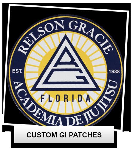 Custom BJJ Gi Patches, Custom Patches