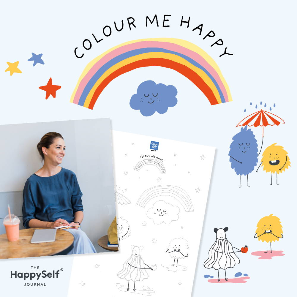 Positive colouring in